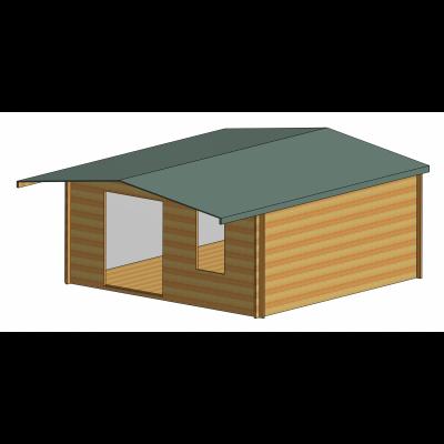 Glenmore Log Cabin 16ft G x 14ft