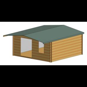 Glenmore Log Cabin 16ft G x 16ft