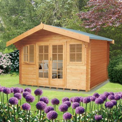 Clipstone Log Cabin 12ft G x 10ft