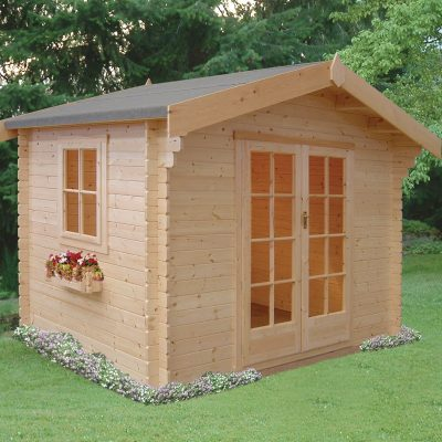 Dalby Log Cabin 8ft G x 8ft