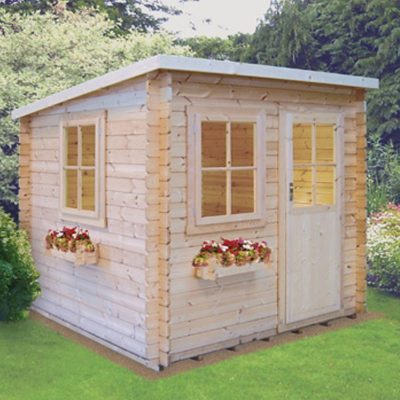 Dean Log Cabin 8ft G x 8ft