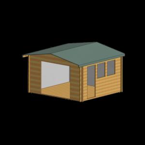 Bradenham Log Cabin 13 x 12ft