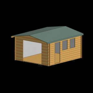 Bradenham Log Cabin 13 x 15ft