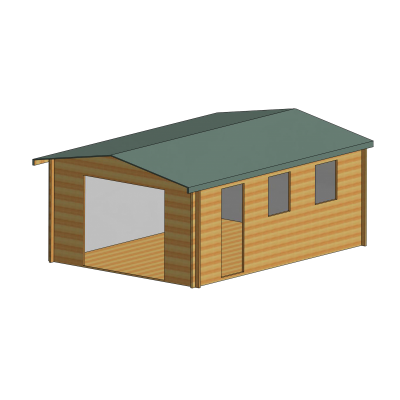 Bradenham Log Cabin 13 x 18ft