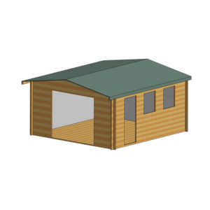 Bradenham Log Cabin 14 x 15ft