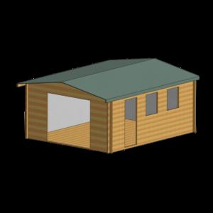 Bradenham Log Cabin 14 x 17ft