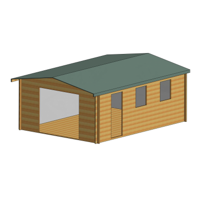 Bradenham Log Cabin 14 x 19ft