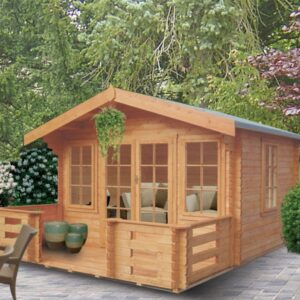 Grizedale Log Cabin 12ft G x 8ft