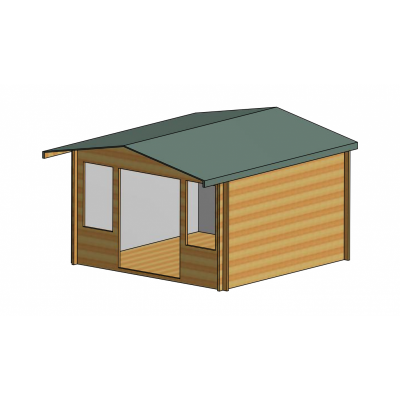 Grizedale Log Cabin 12ft G x 12ft