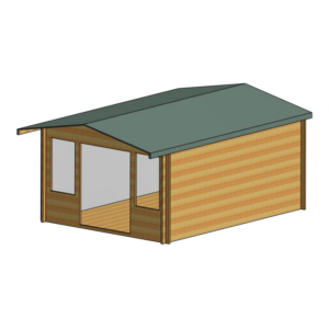 Grizedale Log Cabin 12ft G x 16ft