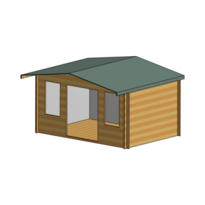 Grizedale Log Cabin 14ft G x 10ft