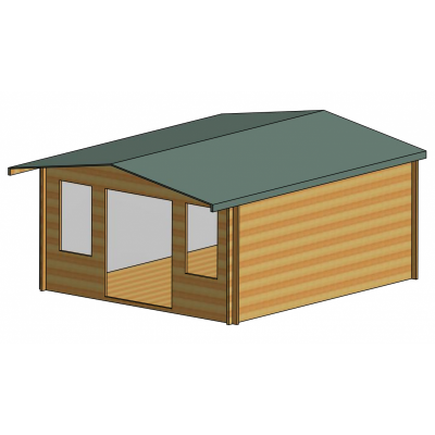 Grizedale Log Cabin 14ft G x 16ft