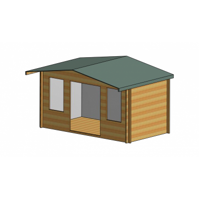 Grizedale Log Cabin 14ft G x 8ft