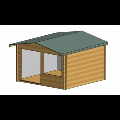 Hale Log Cabin 12ft G x 12ft