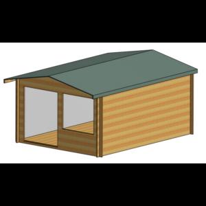 Hale Log Cabin 12ft G x 16ft