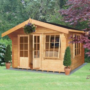 Hale Log Cabin 14ft G x 12ft