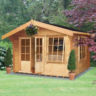 Hale Log Cabin 12ft G x 10ft
