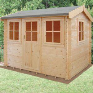 Hemsted Log Cabin 14ft G x 14ft
