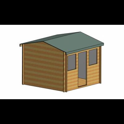 Hemsted Log Cabin 10ft G x 10ft