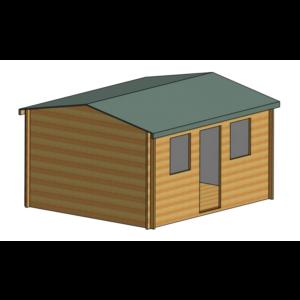 Hemsted Log Cabin 12ft G x 14ft