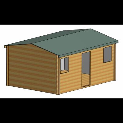 Hemsted Log Cabin 12ft G x 16ft