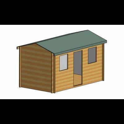 Hemsted Log Cabin 8ft G x 14ft