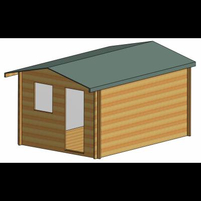 Herewood Log Cabin 10ft G x 14ft