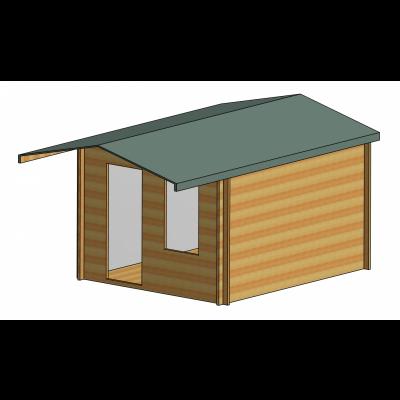 Hopton Log Cabin 10ft G x 12ft