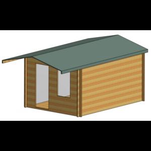 Hopton Log Cabin 10ft G x 14ft