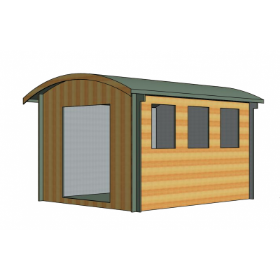 Kilburn Log Cabin 10ft G x 12ft