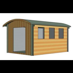 Kilburn Log Cabin 10ft G x 14ft