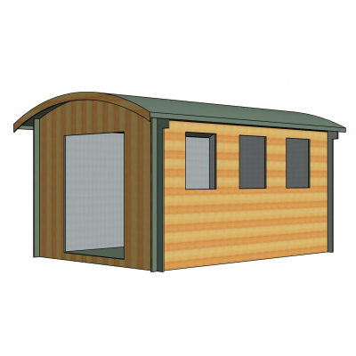 Kilburn Log Cabin 10ft G x 14ft