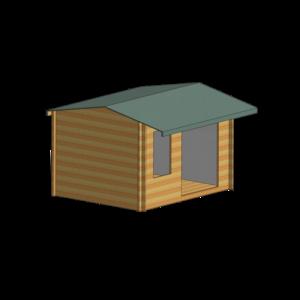 Malborough Log Cabin 14 x 14ft