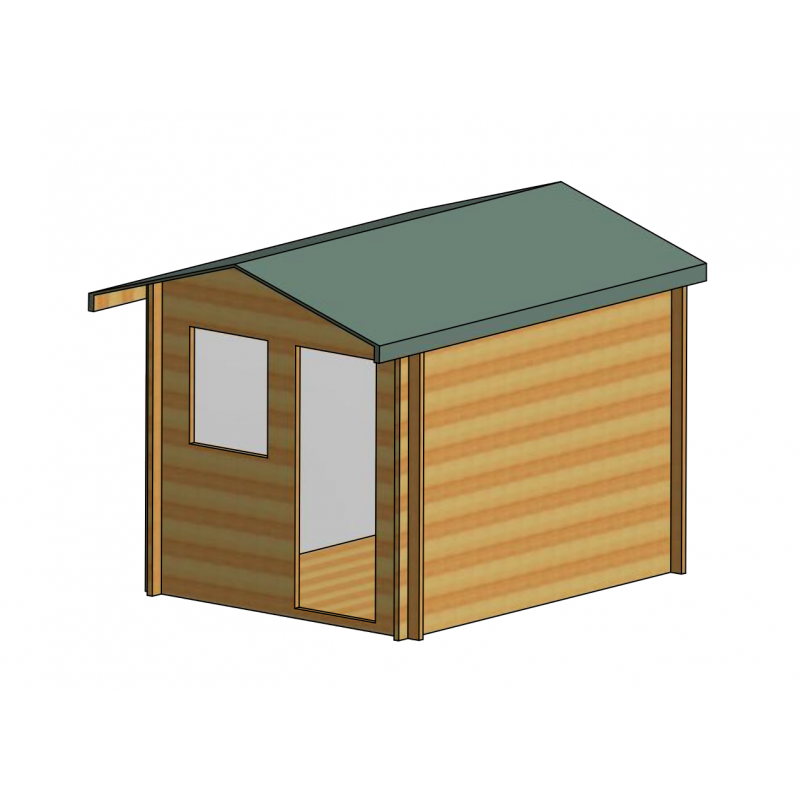 Norwood Log Cabin 8 X 10ft Colchester Sheds And Fencing