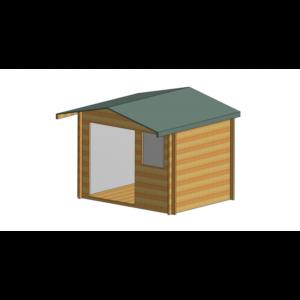 Tunstall Log Cabin 16 x 14ft
