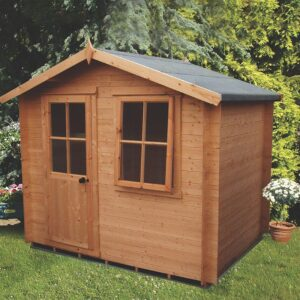 Avesbury Log Cabin 9ft x 9ft