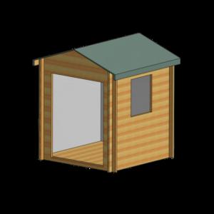 Bradley Log Cabin 8ft x 8ft