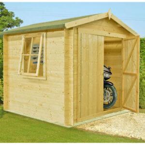 Bradley Log Cabin 7ft x 7ft