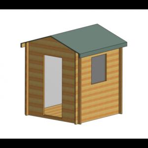 Camelot Log Cabin 7ft x 7ft