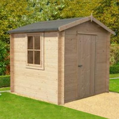 Danbury Log Cabin 7ft x 7ft