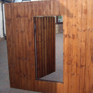Fence Panel With Door