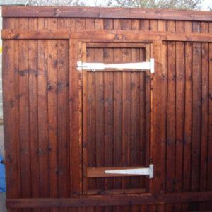 Fence Panel With Door