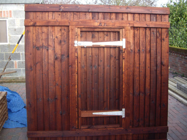 Fence Panel With Door Colchester Sheds And Fencing