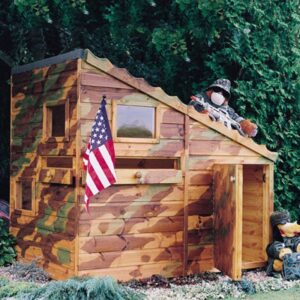 Command Post Play House Flatpacked 6ft x 4ft