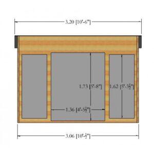 Highclere Summer House 10ft x 10ft