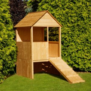 Lookout Play House Flatpacked 4ft x 4ft