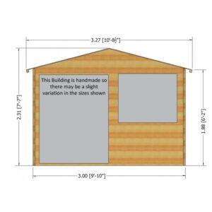 Sandringham Summer House 10 x 8