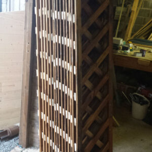 Diamond trellis 6ft x 1ft