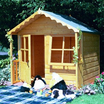 Kitty Play House Flatpacked 5ft x 4ft