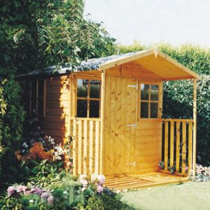 Rothesay summer house 7 x 6ft with veranda